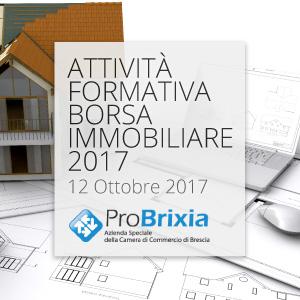 Attività formativa - Borsa Immobiliare 12 ottobre 2017