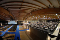 Interno sala congressi Brixia forum