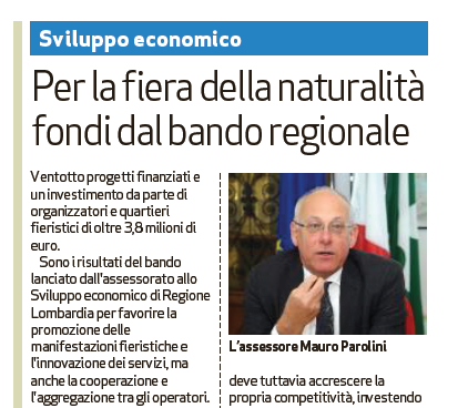 Bandi regionali Brixia Forum