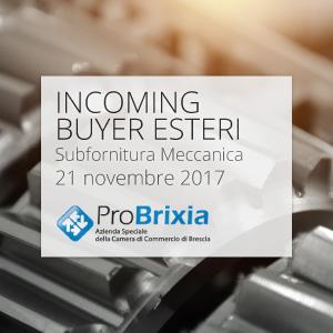 Incoming buyers esteri SUBFORNITURA MECCANICA